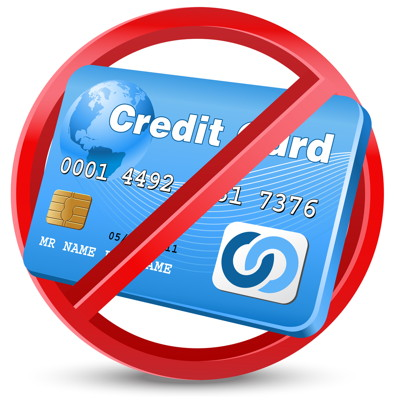 credit card banned