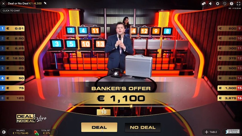 deal or no deal live briefcases