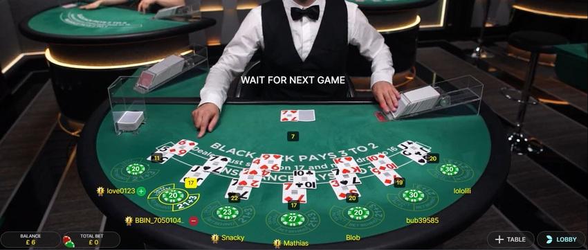 Bet Online Live Blackjack