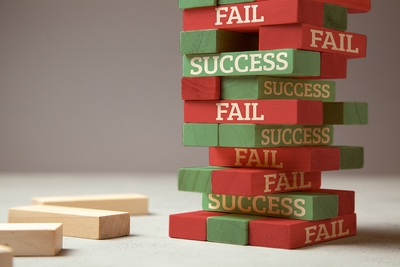 success and failure bigstock