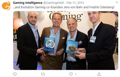 evolution gaming founders